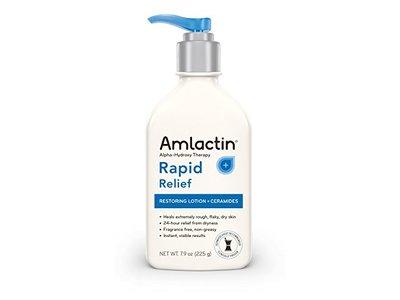 Amlactin Rapid Relief Restoring Lotion + Ceramides, 7.9 Ounce