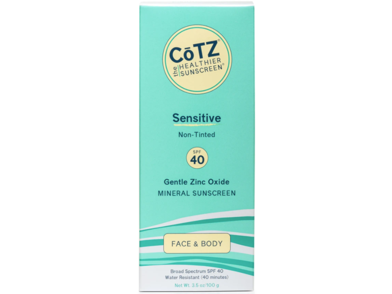 Cotz Spf 40 UVB/UVA Sunscreen for Sensitive Skin, 3.5 Ounce