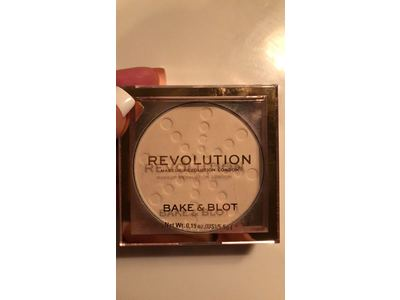 Makeup Revolution London Bake And Blot Pressed Powder, Translucent, 0.19 oz - Image 3