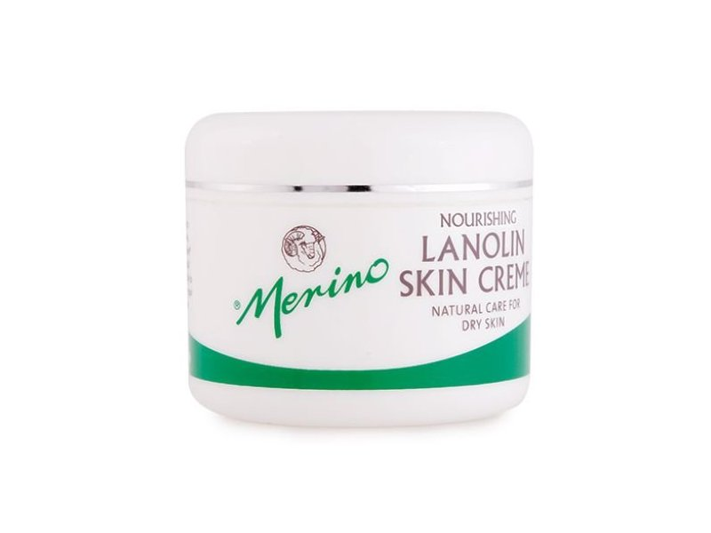 Merino Lanolin Skin Creme for Dry Skin, 100g/3.52 oz