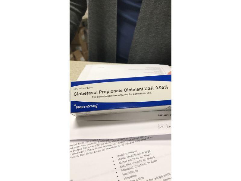 Clobetasol Propionate Ointment USP 0.05% (RX) 45 G, Northstar