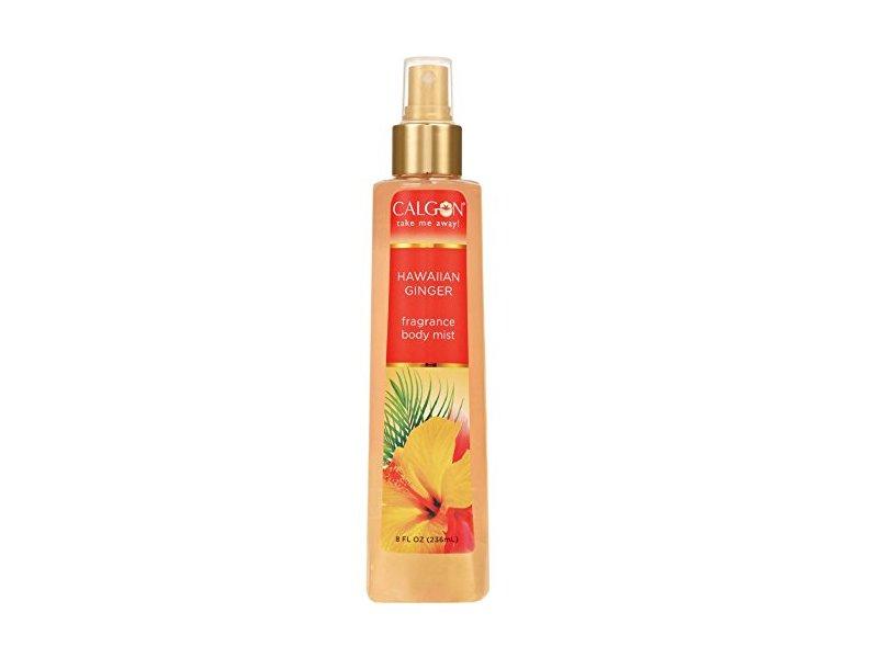 Calgon Hawaiian Ginger Fragrance Body Mist, 8 oz