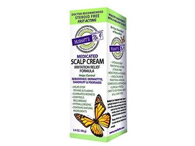 Mushatt's No. 9 Medicated Scalp Cream, 3.4 Ounce