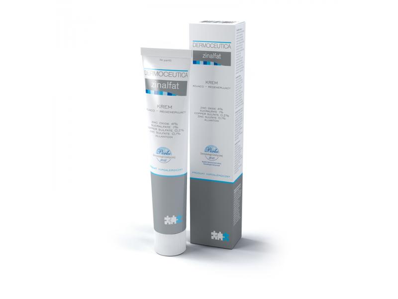 Dermoceutica Zinalfat Soothing and Regenerating Cream, 50 ml