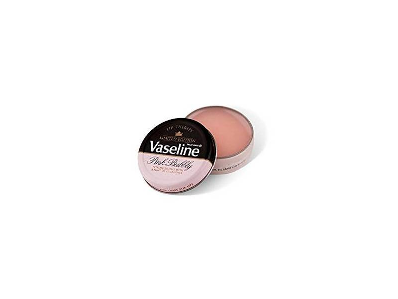 Vaseline Limited Edition Pink Bubbly Lip Therapy, 0.6 oz