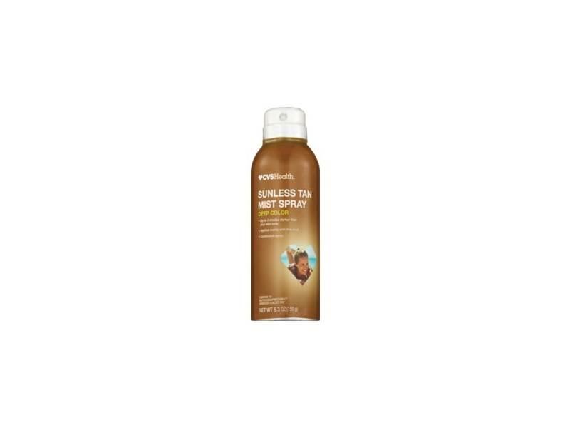 CVS Health Deep Color Sunless Tan Mist Spray