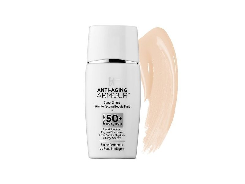 IT Cosmetics Anti-Aging Armour Super Smart Skin-Perfecting Beauty Fluid SPF 50+