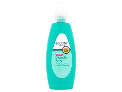 Equate Baby Detangler Spray, Tear Free, 10 fl oz - Image 1