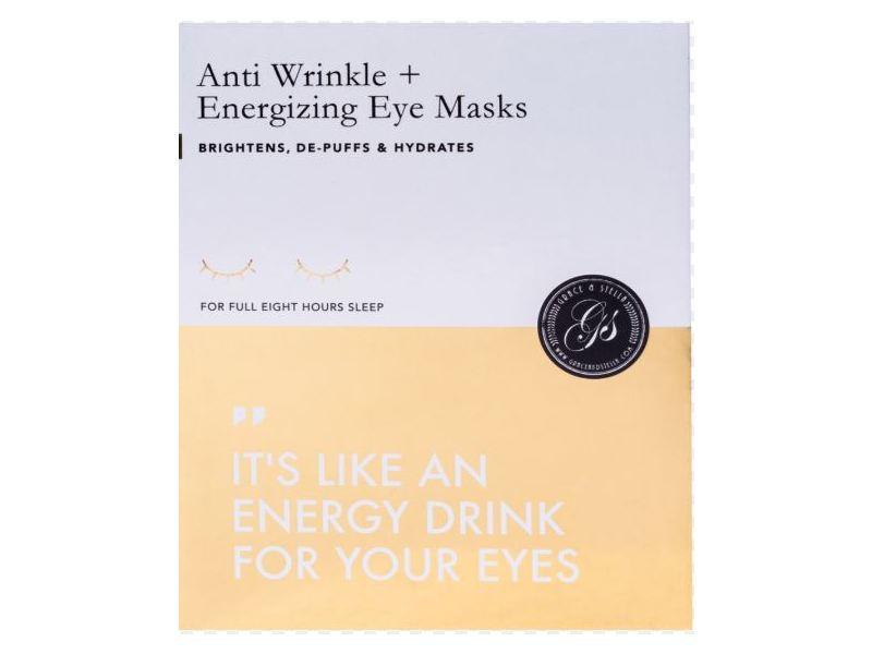 Grace & Stella Anti Wrinkle+Energizing Eye Masks, 8 ct