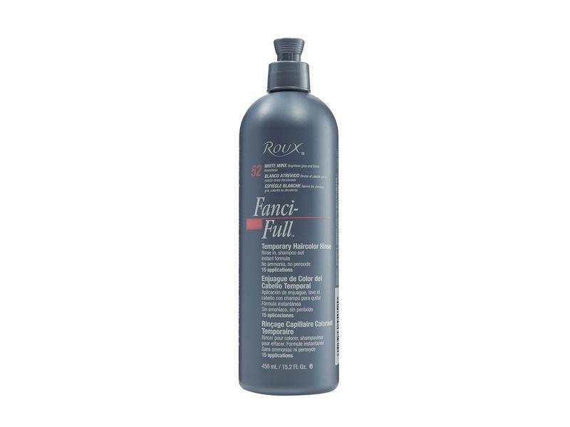 Roux Fanci-full White Minx Temporary Color Rinse, 15 fl oz