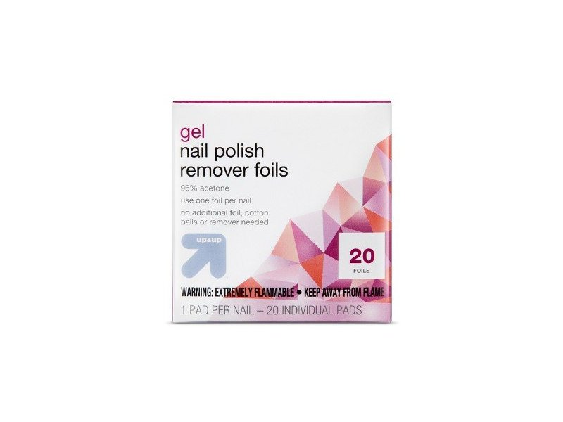 Gel Nail Polish Remover Pads, 20 ct