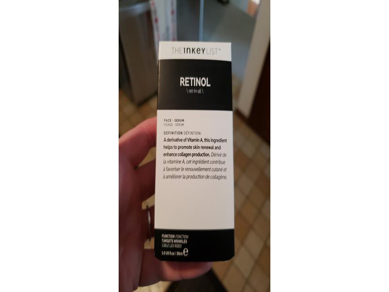 The Inkey List Retinol Face Serum, 1 fl oz