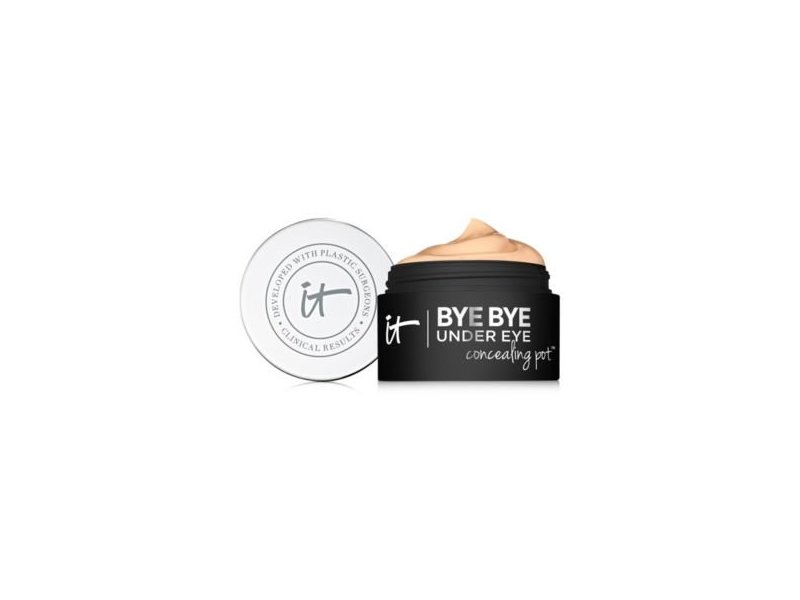 It Cosmetics Bye Bye Under Eye Concealing Pot, Medium Tan, 0.17 oz