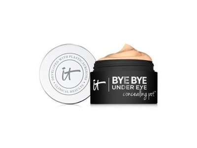 It Cosmetics Bye Bye Under Eye Concealing Pot, Medium Tan, 0.17 oz