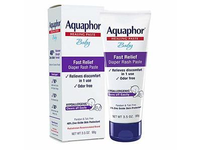 Aquaphor Baby Diaper Rash Paste, 3.5 oz