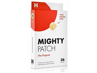 Mighty Patch Original - Hydrocolloid Acne Absorbing Pimple Patch (36ct)