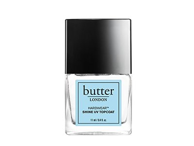 butter LONDON Hardwear Shine UV Topcoat, 0.4 fl oz