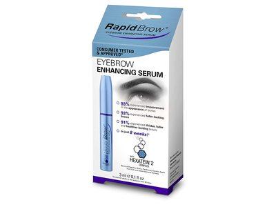RapidLash Rapid Brow Eyebrow Enhancing Serum, 0.1 fl oz/3 mL