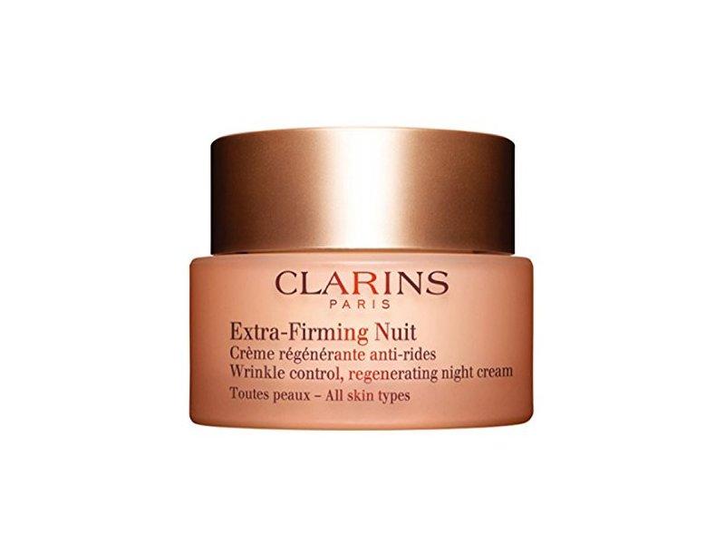 Clarins Paris Extra-Firming Nuit Wrinkle Control Night Cream, 1.6 oz/50 mL