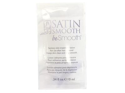 Satin Smooth Be Smooth Sanitary Skin Treatment Lotion, 0.34 fl oz