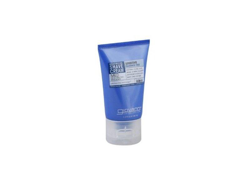 Giovanni Cosmetics Shave Cream, Fragrance Free & Aloe 1.5 oz