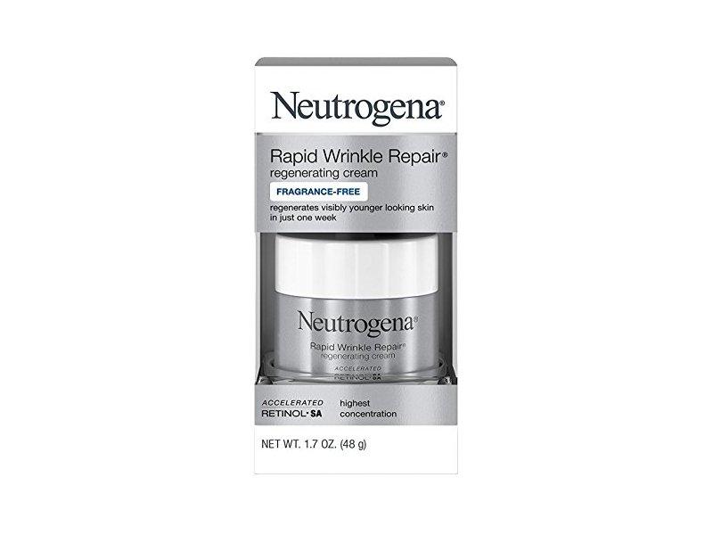 Neutrogena Rapid Wrinkle Repair Cream, 1.7 Ounce