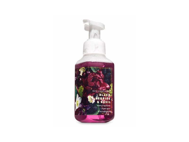 Bath & Body Works Blackberries & Basil Gentle Foaming Hand Soap 2019