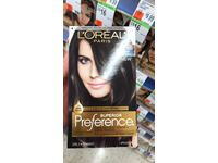 L'Oreal Superior Preference Hair Color, 3C Darkest Brown - Image 3