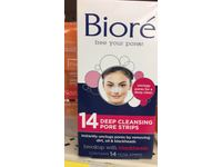 Biore Deep Cleansing Pore Strips Nose, 14 count - Image 3