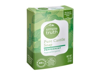Simple Truth Peppermint Pure Castile Soap, 4.5 oz