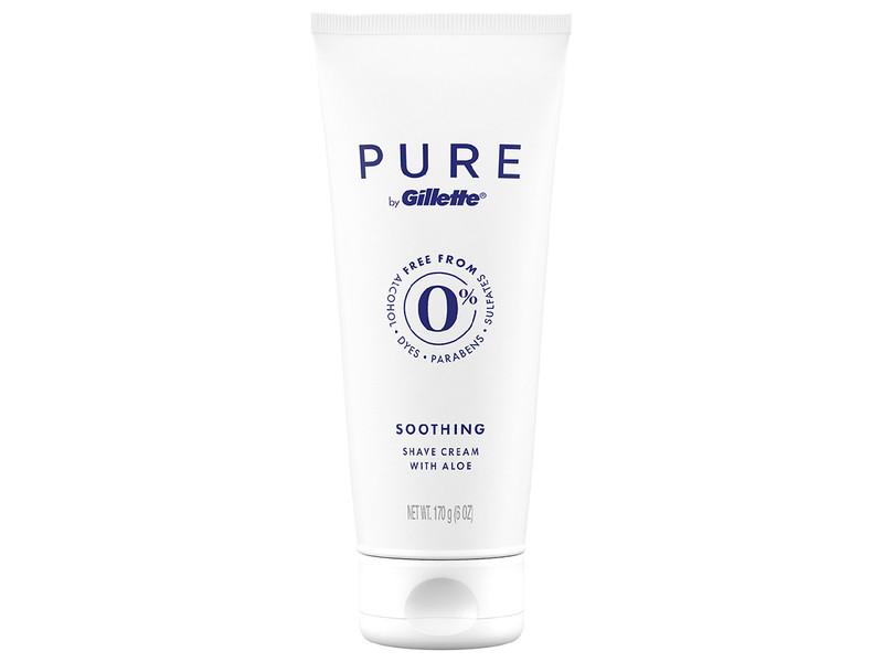 Gillette PURE Shaving Cream for Men, 6 oz