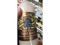 One With Nature Shea Butter Hand Wash with Dead Sea Salts & Shea Butter, 12 fl oz - Image 3