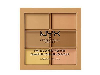 NYX PROFESSIONAL MAKEUP Conceal Correct Contour Palette, Medium, 0.05 Ounce