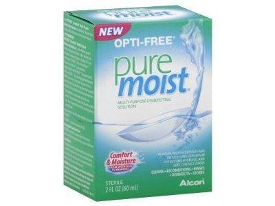 Opti-Free Pure Moist Multi Purpose Disinfecting Solution, 2 oz bottles
