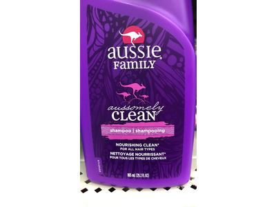 Aussie Family Aussomely Clean Shampoo with Pump, 29.2 oz - Image 8