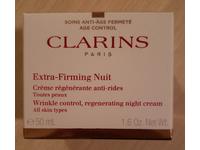 Clarins Paris Extra-Firming Nuit Wrinkle Control Night Cream, 1.6 oz/50 mL - Image 3