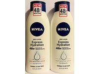 Nivea Body Lotion Express Hydration With Sea Minerals - Net Wt. 13.5 FL OZ - Pack of 2 Bottles - Image 2