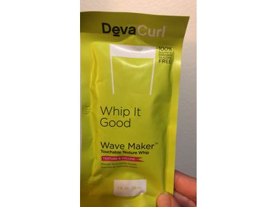 DevaCurl Wave Maker Touchable Texture Whip, 1 fl oz - Image 3