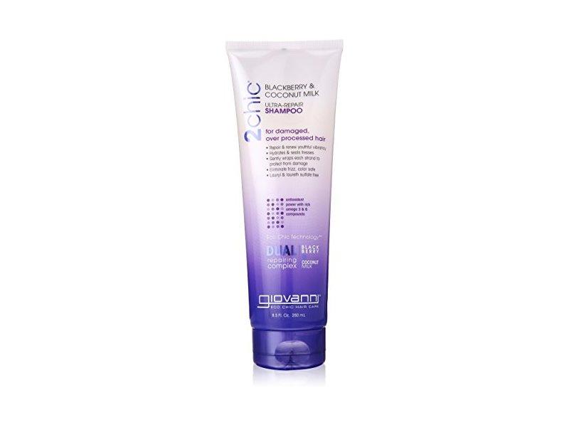 Giovanni 2chic Ultra Repair Shampoo, Blackberry & Coconut Milk, 8.5 fl oz