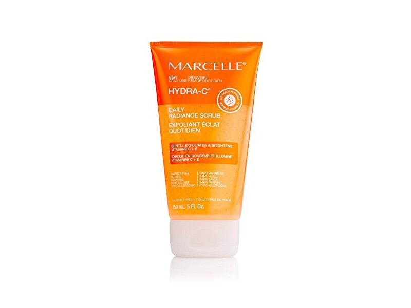 Marcelle Hydra-C Daily Radiance Scrub, Hypoallergenic and Fragrance-Free, 5 fl oz