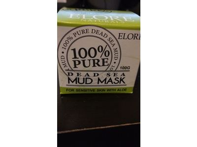 Elore Naturals 100% Pure Dead Sea Mud Mask, Aloe Blend, 100 g - Image 3