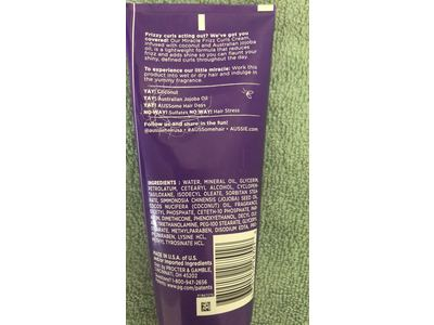 Aussie Miracle Curls Frizz Taming Cream, 6.8 Ounce - Image 4