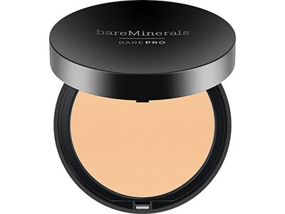 bareMinerals barePRO Performance Wear Powder Foundation, Warm Light 07, 0.34 oz
