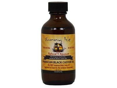 Sunny Isle Jamaican Black Castor Oil, 2 Fluid Ounce
