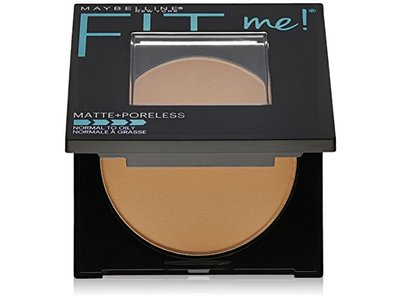 Maybelline New York Fit Me Matte Plus Poreless Powder, Pure Beige, 0.3 Ounce - Image 1