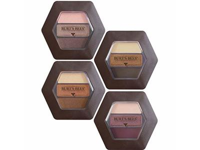 Burt's Bees 100% Natural Eye Shadow Palette with 3 Shades, Shimmering Nudes, 0.12 Ounce - Image 10