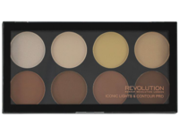 Makeup Revolution London Iconic Lights & Contour Pro, 0.45 oz/13 g - Image 2