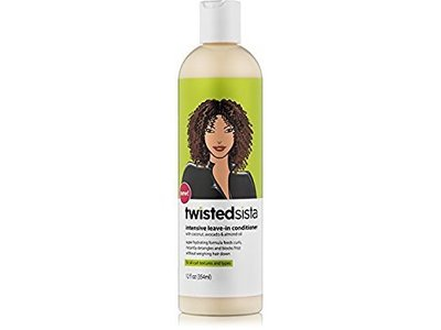Twisted Sista Intensive Leave‑in Conditioner with Coconut/Avocado, 12 fl oz