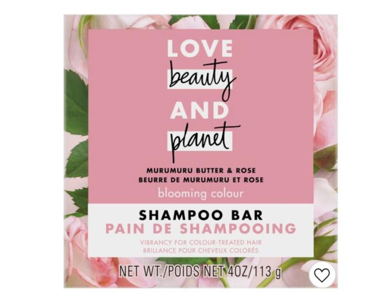 Love Beauty and Planet Muru Muru Butter & Rose Shampoo Bar, 4 oz