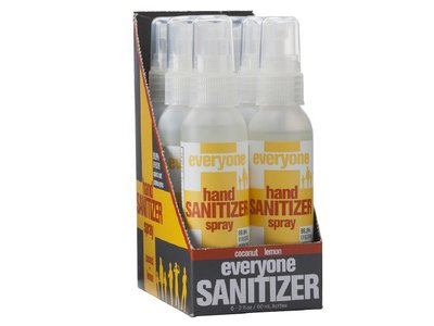 Everyone Hand Sanitizer Spray Coconut and Lemon - 2oz(Pack of 6) - Image 1